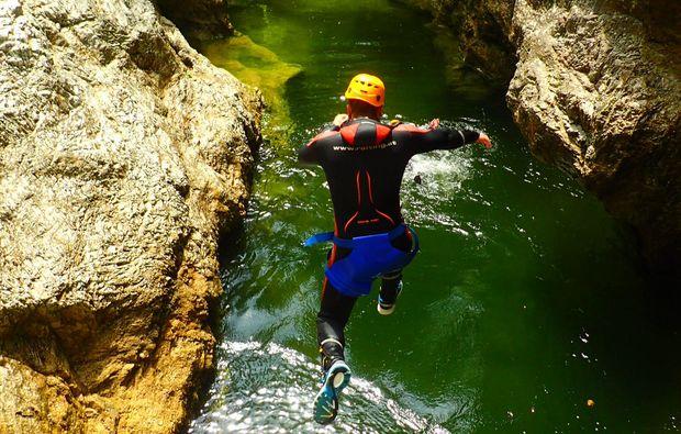 canyoning-strubklamm-golling-an-der-salzach-sprung