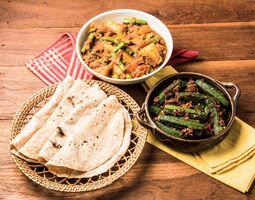 Indische Küche Mehr-Gänge-Menü, inkl. Getränke