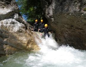 Canyoningtour für Einsteiger in Kiefersfelden Kiefersfelden - ca. 3 Stunden