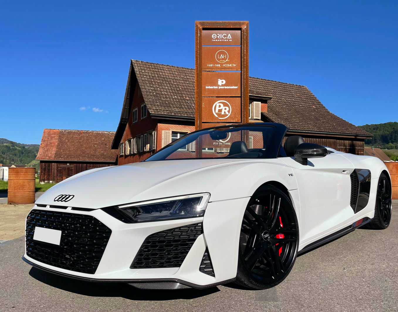Audi R8 V10 Plus - 6 Stunden Audi R8 Spyder V10 Performance - 6 Stunden