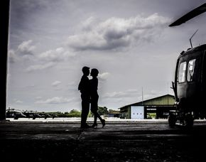 Romantik-Hubschrauber-Rundflug...