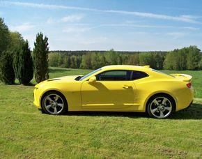 Chevrolet Camaro fahren - 1 Tag (Mo.-So.) - Weißenborn Chevrolet Camaro fahren  - 1 Tag