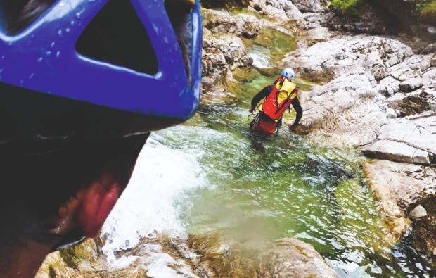 canyoning-tour-koessen-action
