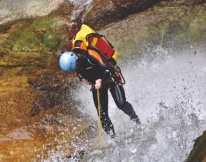 Canyoning Halbtagestour - Kössen Canyoning Halbtagestour - 3,5 Stunden