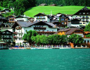 Kurzurlaub inkl. 30 Euro Leistungsgutschein - Seeböckenhotel zum Weissen Hirschen - St. Wolfgang Seeböckenhotel zum Weissen Hirschen