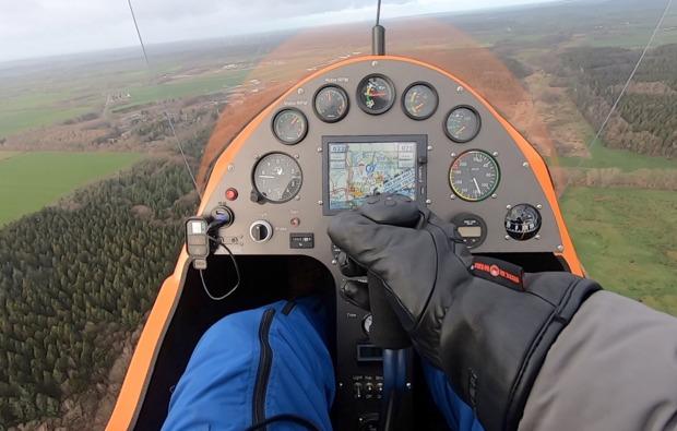 tragschrauber-rundflug-hohenlockstedt-gyrocopter-cockpit