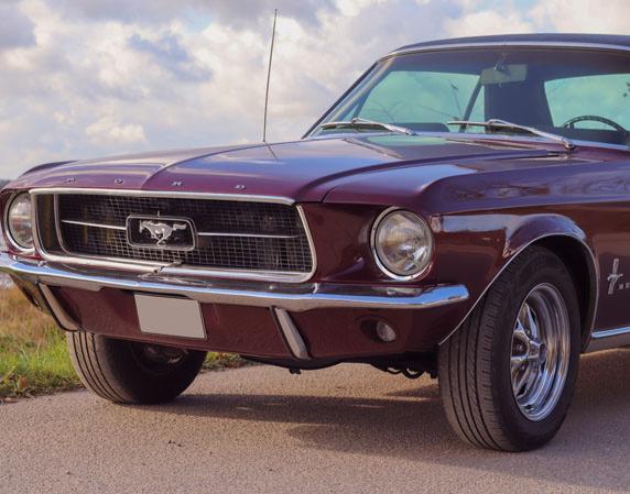 Ford Mustang Oldtimer fahren Raum Flensburg 1965er oder 1967er Ford Mustang
