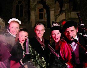 Krimidinner - Das Original - Sayn, Schloss Sayn 4-Gänge-Menü