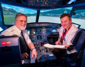 Flugsimulator - Airbus A320 - 45 Minuten Airbus A320 - 60 Minuten