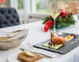 Kuschelwochenende Landhaus Höpkens Ruh - 3-Gänge-Candle-Light-Dinner