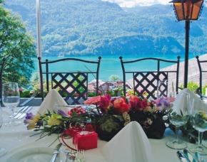 Romantikwochenende - 1 ÜN - Brienz Hotel Lindenhof - 3-Gang-Halbpensionsmenü