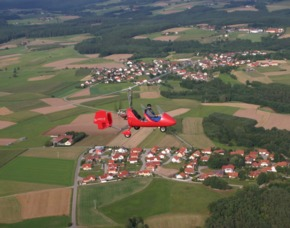 Tragschrauber-Rundflug - 60 Minuten - Schwandorf 60 Minuten