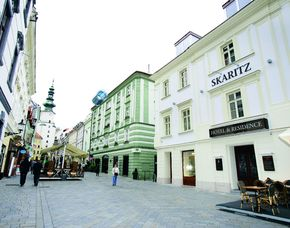 Kurzurlaub inkl. teilweise Leistungsgutschein - Skaritz Hotel & Residence - Bratislava Skaritz Hotel & Residence