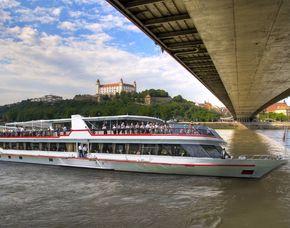 Minikreuzfahrt für Zwei - Wien - Bratislava Wien nach Bratislava, inkl. Frühstück & Essen