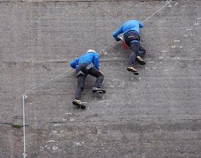 Geführte Klettersteigtour- 2 Stunden - Finkenberg an einer Staumauer