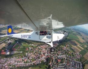 Flugzeug selber fliegen Boxberg