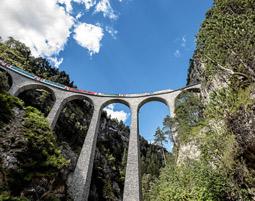 Bahnreisen Bernina und Glacier Express Bernina und Glacier Express - Gästekarte, Swiss Coupon Pass