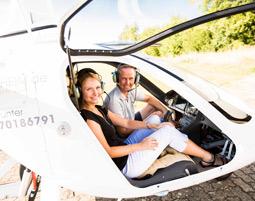 Tragschrauber-Rundflug - 30 Minuten in einem geschlossenen Tragschrauber - 30 Minuten