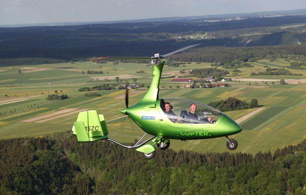 gyrocopter-tragschrauber-rundflug-erbach-donau