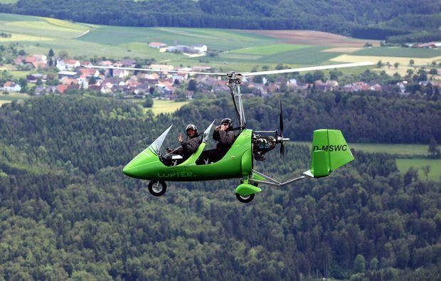 tragschrauber-rundflug-erbach-donau
