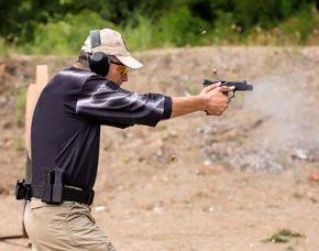 Schießtraining - Pistole & Revolver - Berlin Schießtraining mit Pistolen und Revolvern - 90 Minuten
