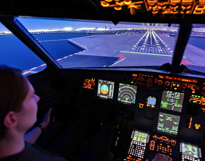 A320 Cockpit Full Motion 4D - Berlin 60 Minuten Airbus A320 - 1,5 Stunden