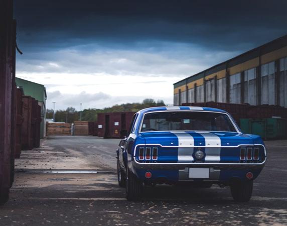 Ford Mustang Oldtimer fahren Bad Oldesloe Ford Mustang Oldtimer - 5 Stunden