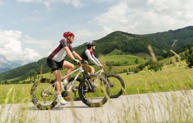 aktivurlaub-leogang-biketour