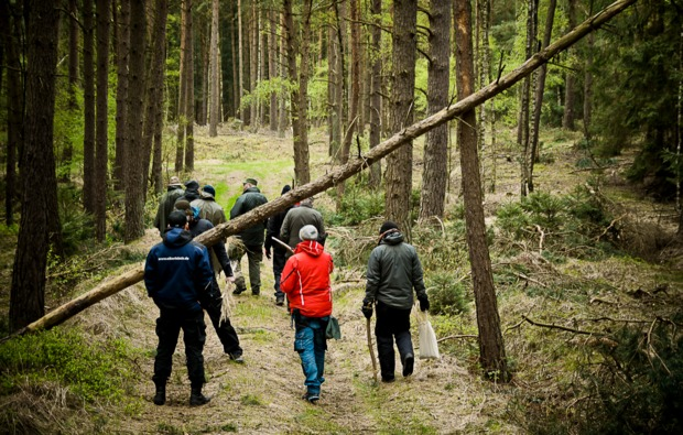 survival-training-albersdorf-wanderung