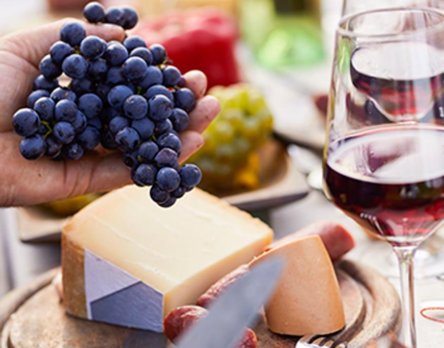 Wein & Käse_ab 2022 Verkostung von 7 Weinen & 5 Sorten Käse
