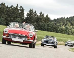 Oldtimer Rallye im Bayerischen Wald für 2 1 Tag