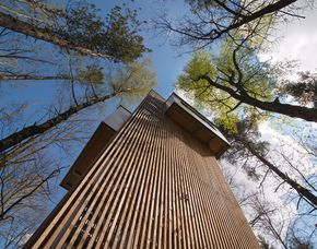 Kurzurlaub im Klippenhaus oder Haus am Teich - 2 ÜN Baumhaus Lodge Schrems - Baumhaus an der Klippe oder am Teich, 3-Gänge-Menü