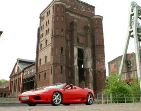 Ferrari F360 Spider selber fahren (60 min) - Funpark Meppen - Meppen Ferrari F360 Spider - 60 Minuten