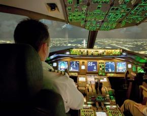 Flugsimulator - Tickets finden und buchen