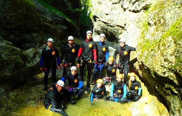 canyoningtour-golling-an-der-salzach-team