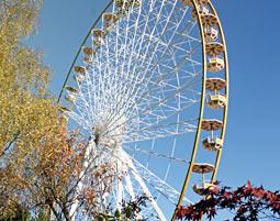 Dinner mal anders - Dinner im Riesenrad + Parkeintritt - Bestwig-Wasserfall Dinner im Riesenrad, 3-Gänge-Menü, inkl. ein Getränk pro Gang & Parkeintritt