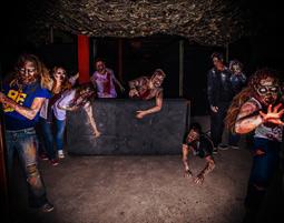 Zombie-Lasertag - Köln 3 Stunden