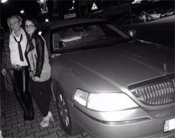 limousine-schwarz-weiss