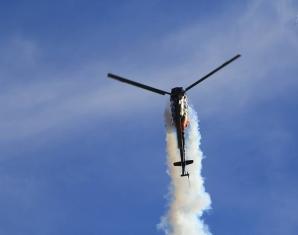 Helikopterkunstflug - Budapest Militärhubschrauber vom Typ Mi-2 - 15 Minuten