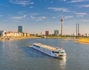 Düsseldorf_Frühstück+Panoramaschifffahrt Viator Frühstück und Panoramaschifffahrt auf dem Rhein