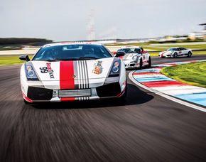 Rennwagen selber fahren - Lamborghini Gallardo - 6 Runden Lamborghini Gallardo - 6 Runden auf dem Lausitzring