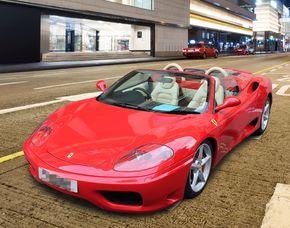 Ferrari F360 selber fahren - 40 Minuten SB 5000 Ferrari F360 Spider - Ca. 40 Minuten - 20km
