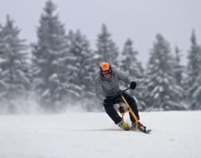 Snowbike fahren Steinach