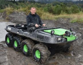 Amphibienfahrzeug fahren Voits...