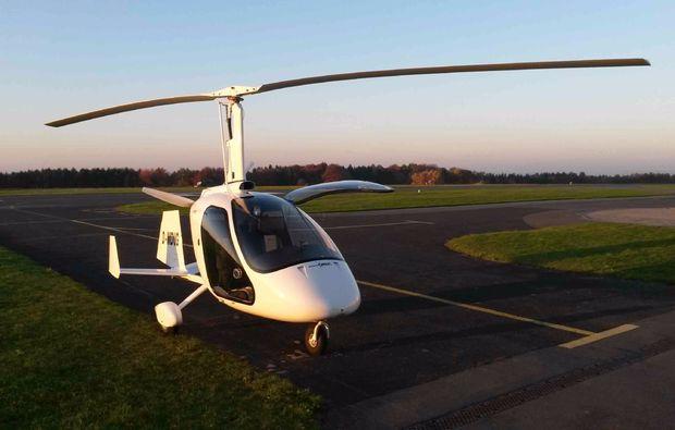 tragschrauber-rundflug-miltenberg-maschine-aussen-ansicht