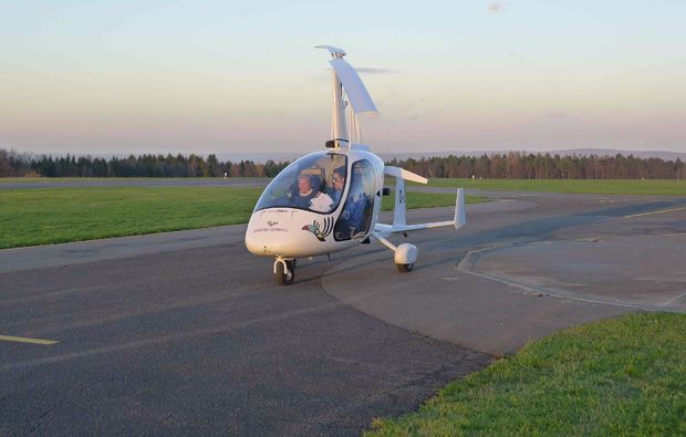 tragschrauber-rundflug-miltenberg-starten