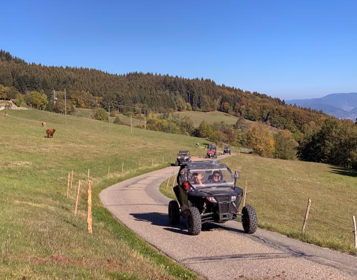 Quad / ATV - Schwarzwaldtour (4Std) Meißenheim Schwarzwaldtour - ca. 5 Stunden