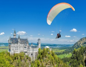 Gleitschirm Tandemflug Schwangau
