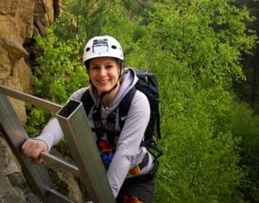 Einsteiger Klettersteig & Kletterkurs - Schriesheim Schriesheim – 7 Stunden