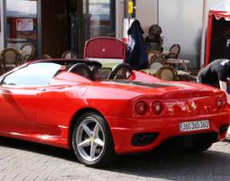 Ferrari selber fahren - Ferrari F360 Spider - 50 Minuten Ferrari F360 Spider - Ca. 60 Minuten